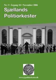 1. - Dec • 06 7. - Sjællands Politiorkester