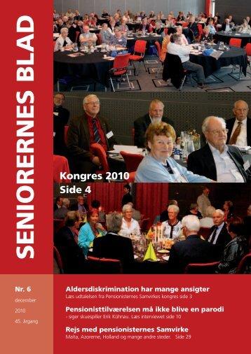 Seniorernes Blad 6 - 2010 - Pensionisternes Samvirke