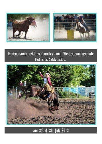 Country- und Westernwochenende in Köln 2013
