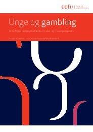 Unge og gambling - Center for Ungdomsforskning