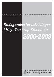 Redegørelse for udviklingen i Høje-Taastrup Kommune