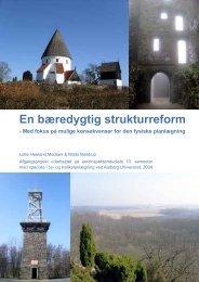 En bæredygtig strukturreform af Lotte Madsen og - Aalborg Universitet