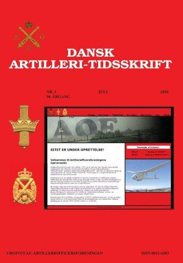 DAT nr. 2 - Artilleriofficersforeningen