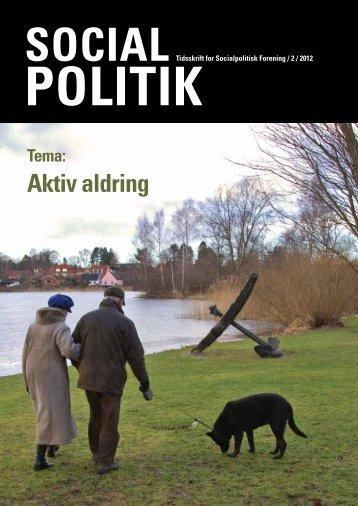 Nr. 2 Aktiv aldring - Socialpolitisk Forening