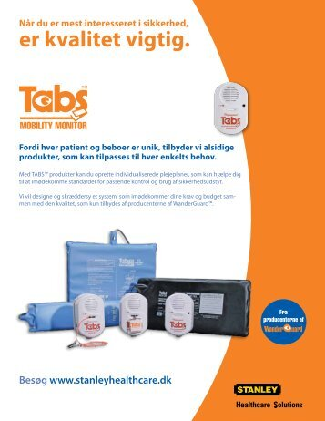 TABS - Stanley Healthcare Solutions