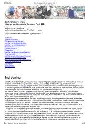 Bacheloropgave. Idræt og identitet - amhansen: Forside