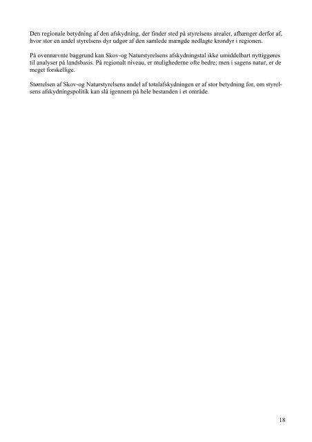 Vildtudbytte Krondyr DK - Naturstyrelsen