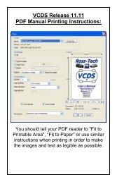 For Ross‐Tech VCDS VAG‐COM Diagnostic Software - mObridge