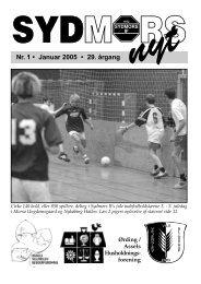 Nr. 1 • Januar 2005 • 29. årgang - Sydmors IF