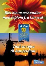 Bliv blomsterhandler med diplom fra Chrysal Vind en rejse til ...
