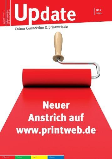 Neuer Anstrich auf www.printweb.de