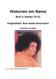 Historien om Rama, bind 2 - Sai Baba på Dansk