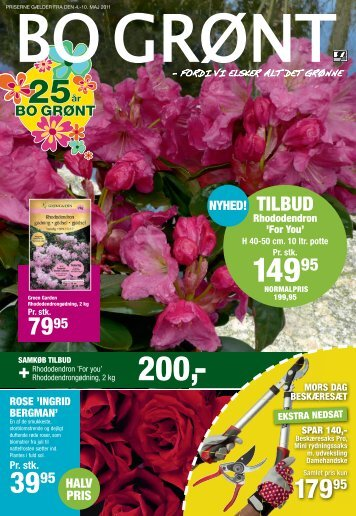 tILBUD - Plante .dk - PlanteRiget