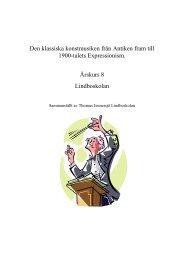 Den klassiska konstmusiken från Antiken fram till ... - Hallstahammar
