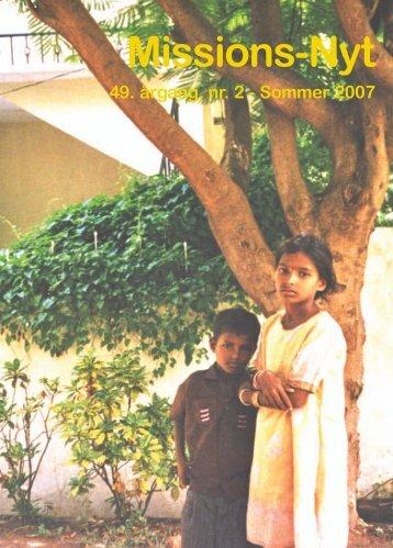 Missions-Nyt nr. 2 - 2007 med billeder - Missionsfonden