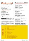Missions-Nyt nr. 2 - 2007 med billeder - Missionsfonden - Page 2