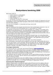 Formandens beretning 2009 - Høgelsbjerg