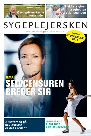 Sygeplejersken nr. 14 2011 - Dansk Sygeplejeråd