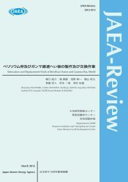 JAEA-Review-2012-013.pdf:6.74MB - 日本原子力研究開発機構