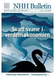 Last ned magasinet og les mer om - Norges Handelshøyskole