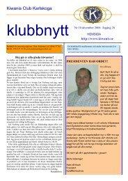 Klubbnytt dec 2008-10 - Kiwanis Karlskoga