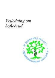 Vejledning om hoftebrud - Bispebjerg Hospital