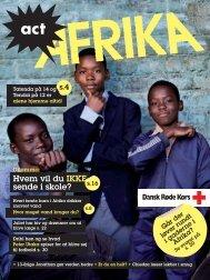 Magasinet act Afrika (pdf, 10 mb) - Røde Kors
