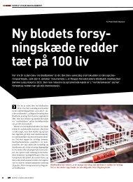 Ny blodets forsy- ningskæde redder tæt på 100 liv - Den Danske ...