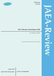 JAEA-Review-2010-065.pdf:15.99MB - 日本原子力研究開発機構