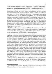 Graae, Lisbeth; Gustav Graae: Jagtsproget, 2. udgave, redigeret af ...