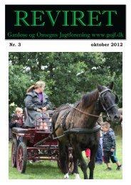Reviret oktober 2012 - Ganløse og Omegns Jagtforening