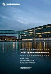 Efter- og videreuddannelse - Statens Byggeforskningsinstitut