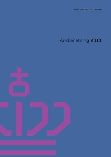 Auditørkorpsets årsberetning 2011 - Forsvarets Auditørkorps