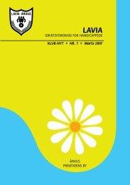 Klub-Nyt Nr.1 2007 - Lavia - Århus