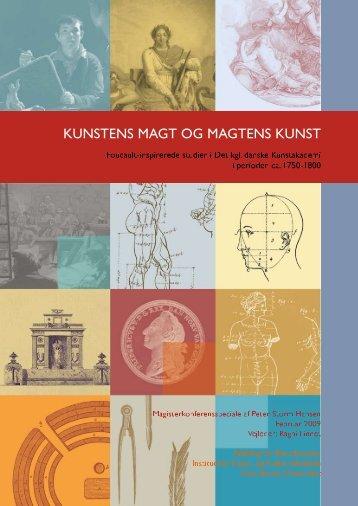 Speciale, PDF-fil, 4,2 MB (lav billedkvalitet) - nyklassicisme.dk