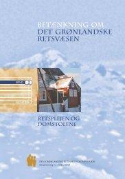 Betænkning 1442 om det grønlandske retsvæsen, bind 2 - Krim