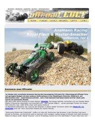 Ansmann Racing Royal Flash & Master-Smacker Testbericht, Teil 1