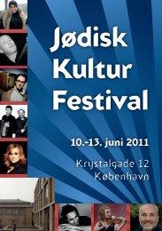 Se hele festivalprogrammet - Det Mosaiske Troessamfund