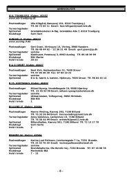 ADRESSELISTE AIA/TRANBJERG Klubnr. 40502 www.aia ...