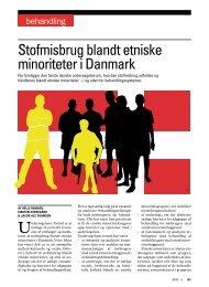 Stofmisbrug blandt etniske minoriteter i Danmark