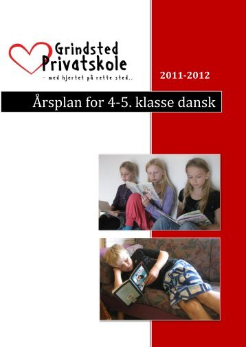 dansk_4og5klasse - Grindsted Privatskole