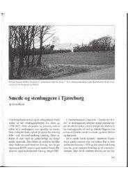 Smede og stenhuggere i Tjæreborg