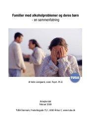 Familier med alkoholproblemer og deres børn - en ... - Blå Kors - Tuba