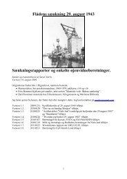 Flådens sænkning 29. august 1943 ... - Noerby.net