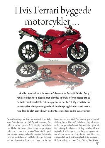 Ducati - FI Motorcykler