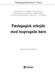 Pædagogisk arbejde med tosprogede børn - Dafolo