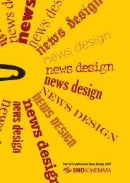 Se katalog af vindersider - Society for News Design Scandinavia