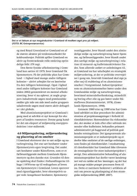 tidsskriftet grønland nr.2-3_2008 - Det grønlandske Selskab