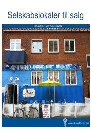 Selskabslokaler til salg - Augustinus Properties