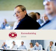 Kursuskatalog 2010 - Domstolene